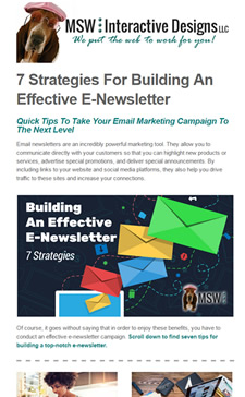 Email Marketing : Small Business Web Design & Social Media Marketing